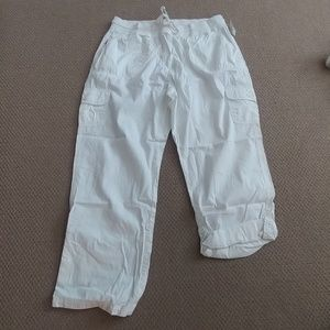 NWOT Woman Within White Pants